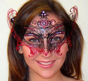 Luxury Angel Wings Mask