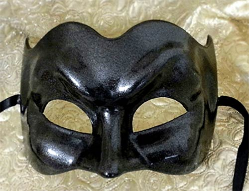 Large Black Mask Eclipse Zane