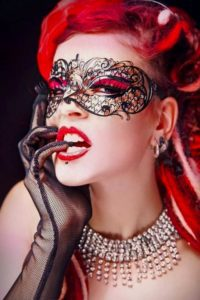 Adele Filigree Masquerade Mask