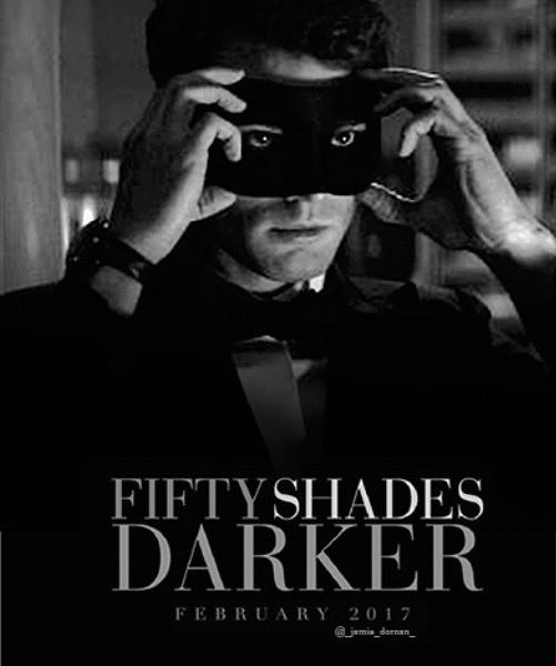 50 shades Darker Mens Mask