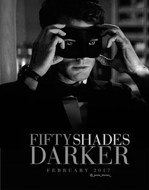 50 shades Darker Mens Mask