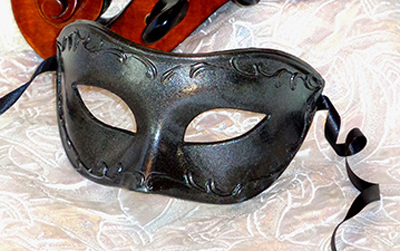 Mens Black Mask