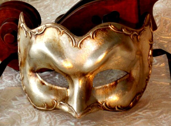 Antonio Silver Zane Large Mens Mask