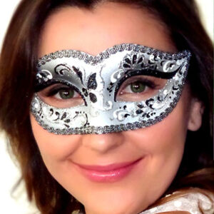 Black Silver Mask