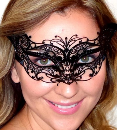 Petite Black Cat Mask