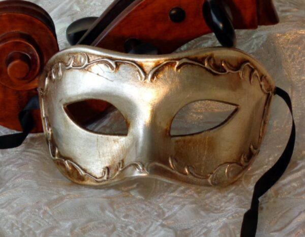 Antonio Silver Mask
