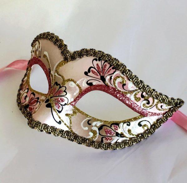 Venetian Mask Pink