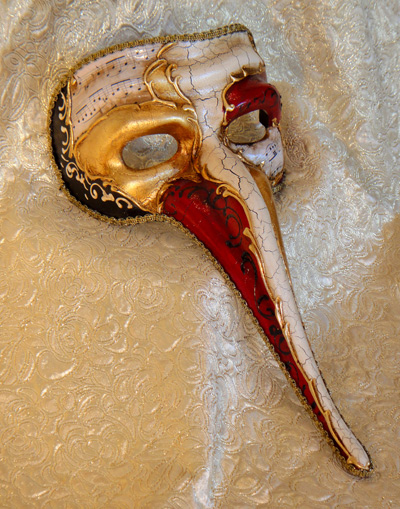 Vivaldi Scaramouche Costume Venetian Mask Made in Italy