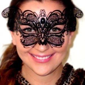 Whiskas Black Cat Costume Mask for Masquerade