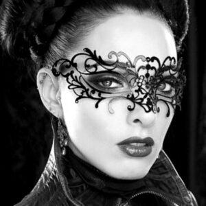 Sexy Black Masquerade Mask