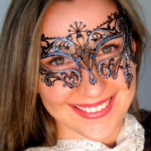 Exotic Italian Made Masquerade Mask Gatsby