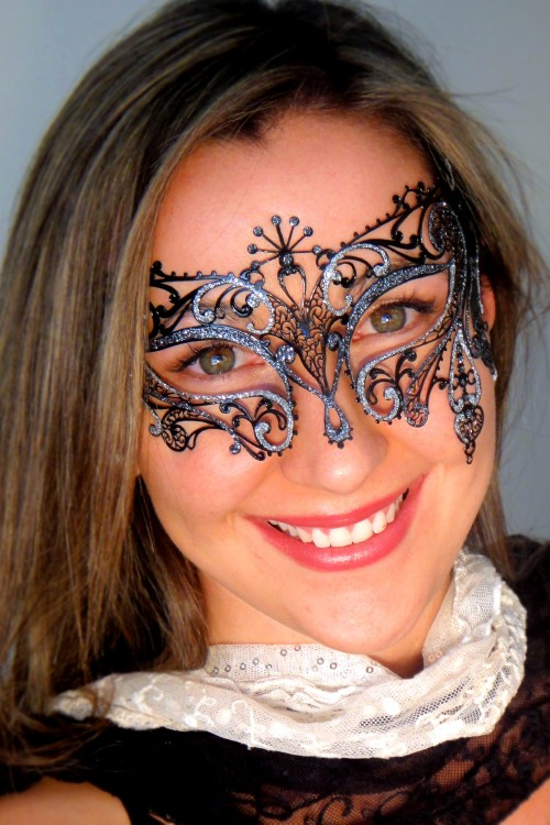 Exotic Italian Made Masquerade Mask Gatsby
