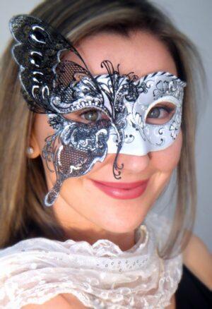 Butterfly Venetian Masquerade Mask