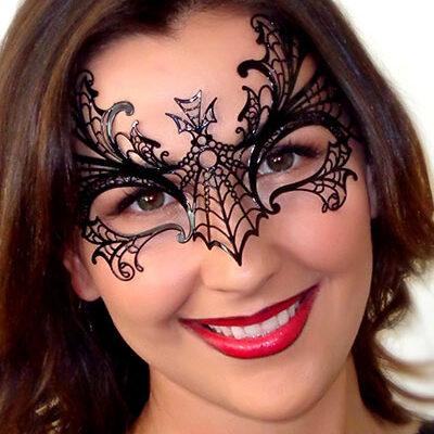 Maleficent Halloween Costume Mask for Fancy Dress