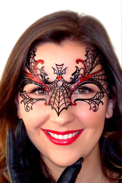 Maleficent Mask Halloween Red