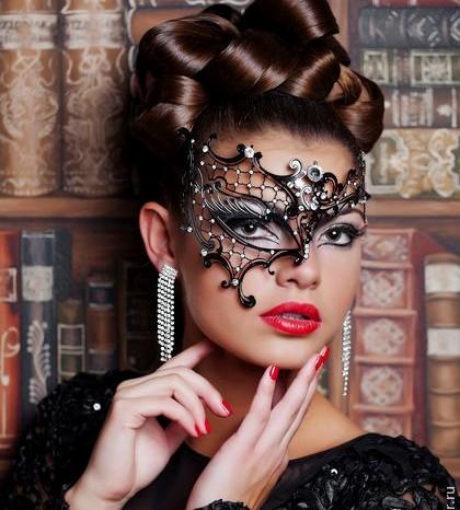 Gothic Phantom Masquerade Mask