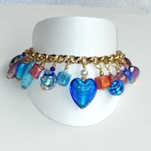 Murano Jewelry Bracelet Resort Blue