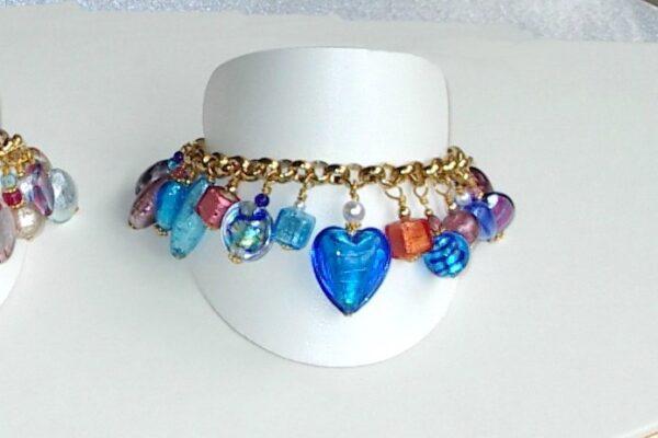 Murano Jewelry Bracelet Resort Blue