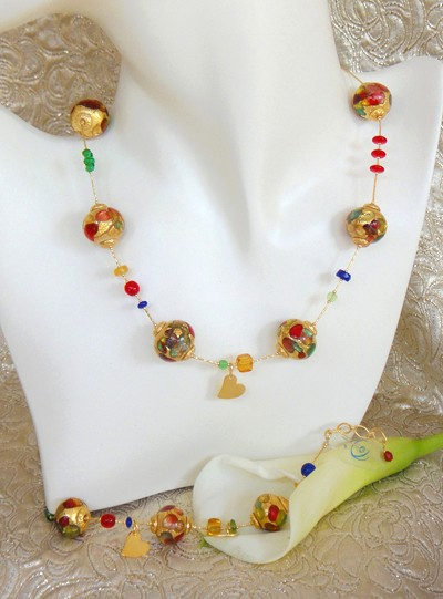 Murano Jewellery Set
