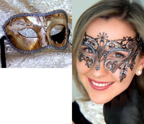 Gatsby Couples Masks