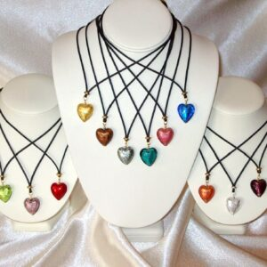 Besotted Heart Necklaces