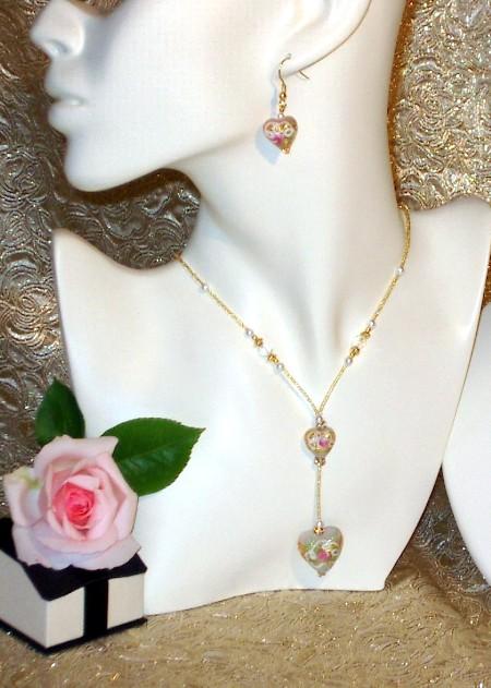 Murano Necklace Chantilly Cream