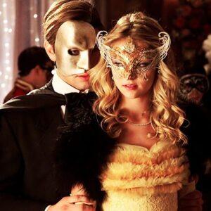 Masquerade Mask Angel