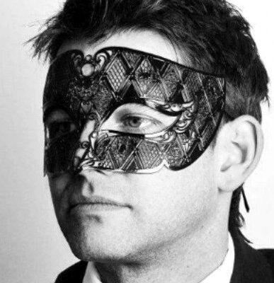 Mens Metal Mask