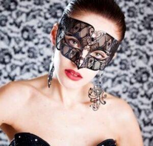 Non Binary Masquerade Mask