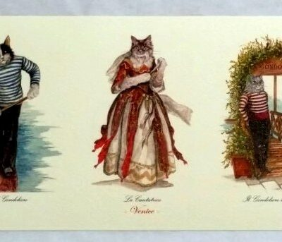 Cat Print Gondola