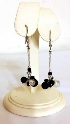 Silver Murano Earrings