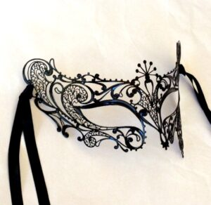 Gatsby Black Mask from Venice