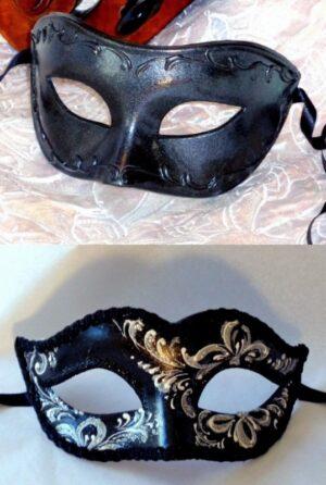 Pair of Venetian Masks