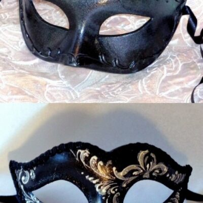 Pair of Venetian Masks