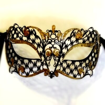 Adelle Custom Masquerade Mask Gold
