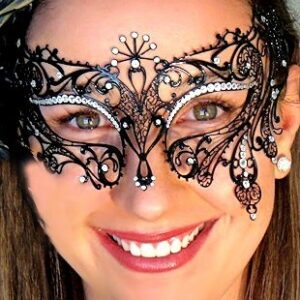 Exotique Italian Made Mask with Crystals