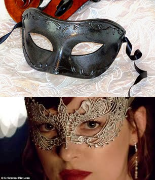 50 Shades Couples Masks