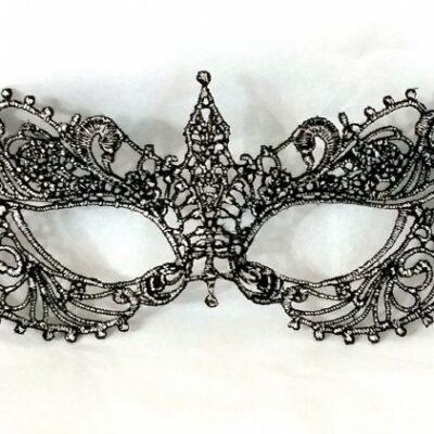 Anastasia Silver Black Mask