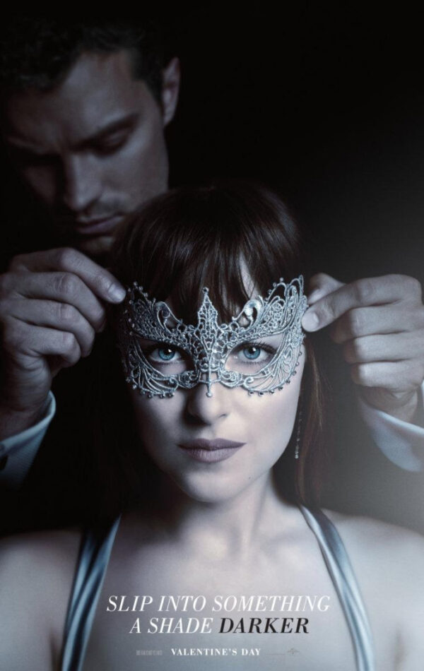 Shades of Grey - 50 Shades Mask