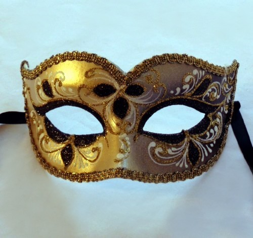 Anika Gold Mask - Italian Made