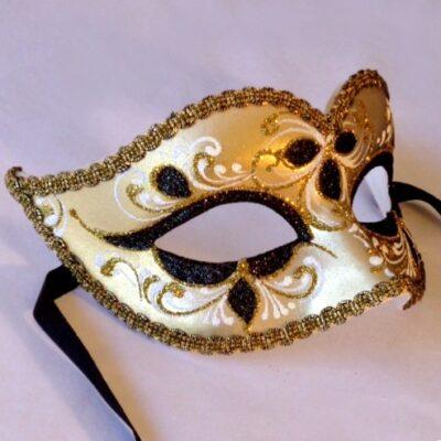 Anika Gold Mask - Italian Made