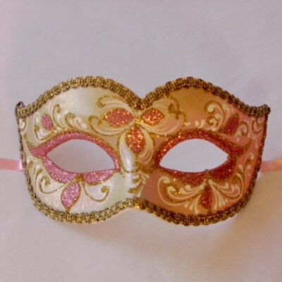 Anika Rose Gold Venetian Mask