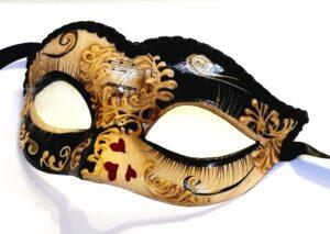 Queen of Hearts Alice in Wonderland Mask