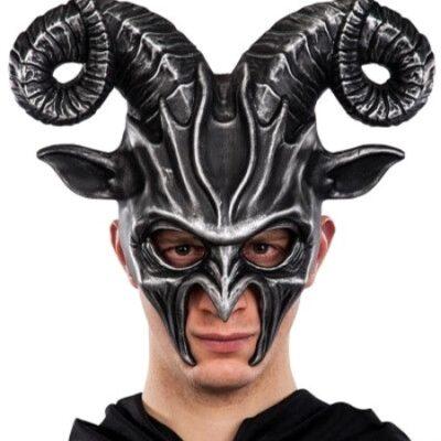 Halloween Mask Goat
