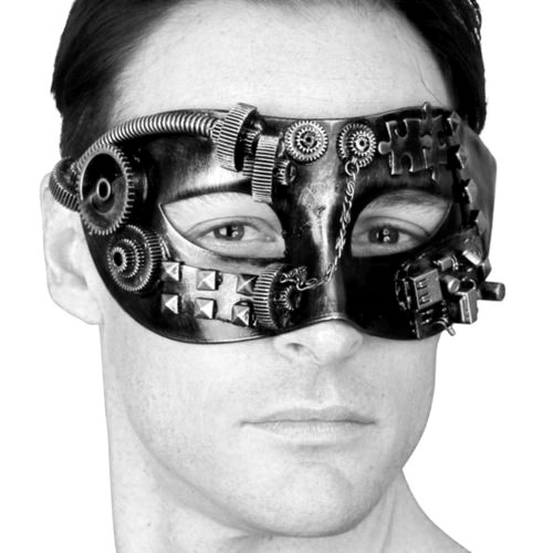 Steampunk Mask on Model