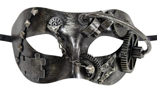 Steampunk Mask Silver