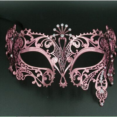 Rose Gold Mask for Masquerade
