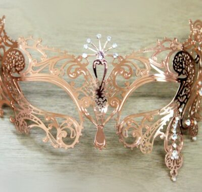 Exotique Rose Gold Mask