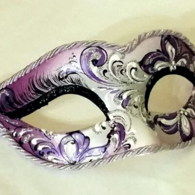 Lily Purple Mask from Venice