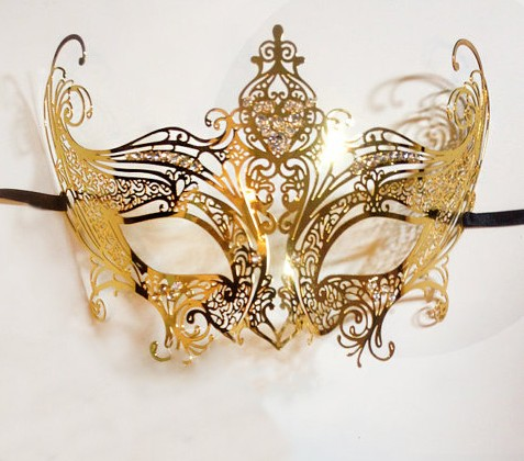 Golden Angel Mask